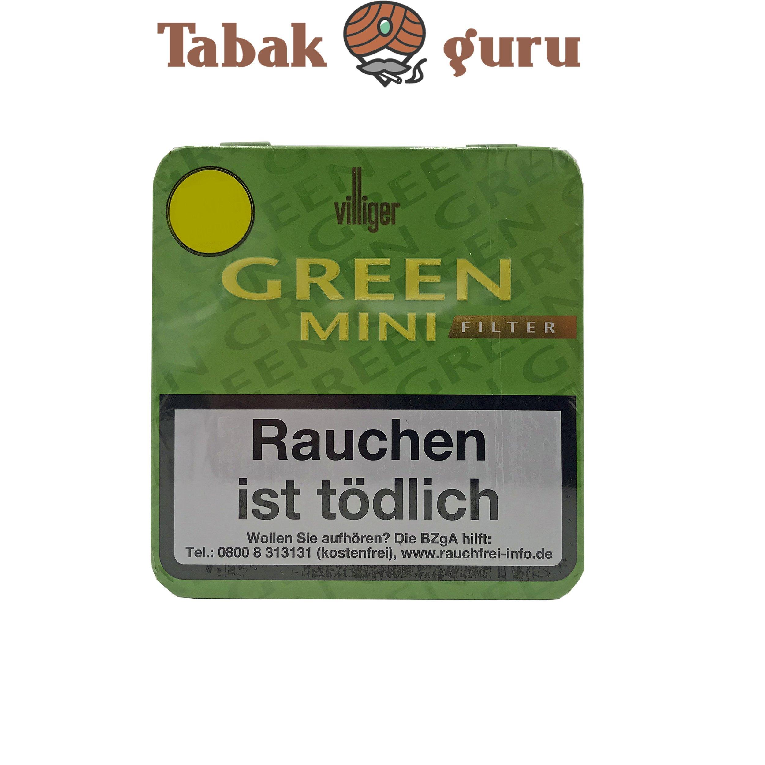 Villiger Green Mini Filterzigarillos a 20 Stück
