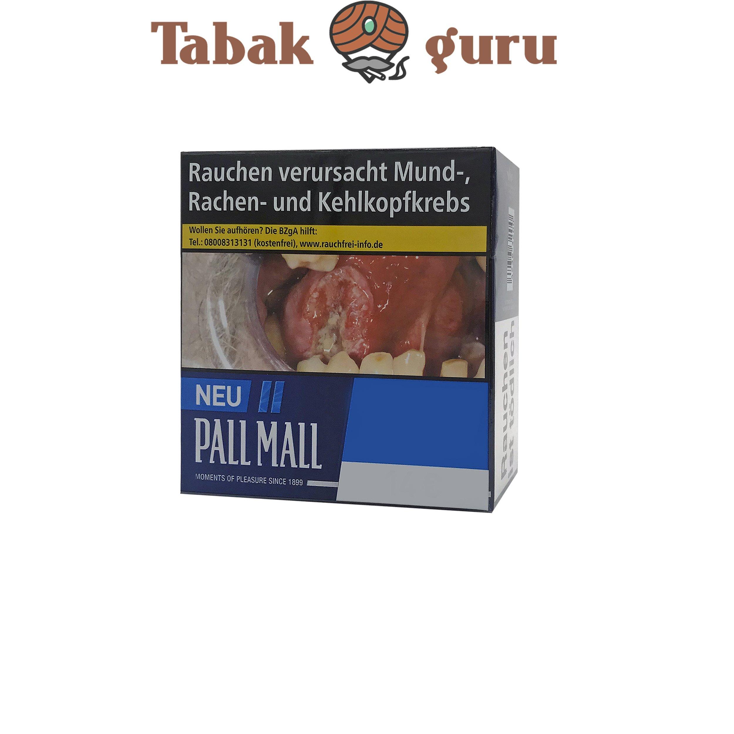 Pall Mall Blue / Blau Zigaretten Jumbo Box (49 Stück)