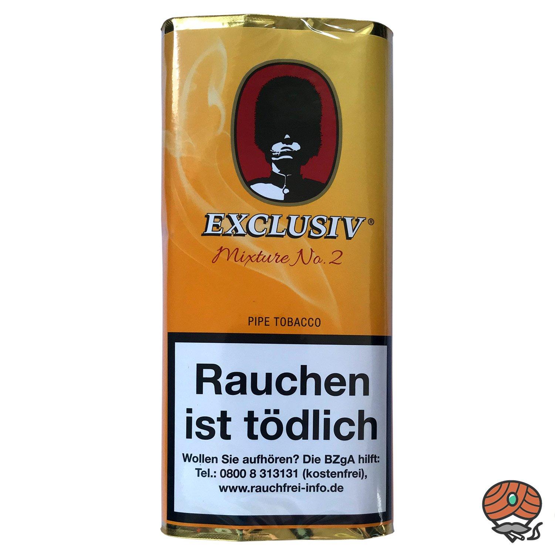 EXCLUSIV Mixture No. 2 Pfeifentabak 50g Pouch (ehem. Wild Mango)
