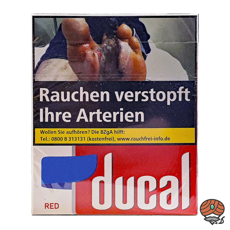 Ducal Red Zigaretten XXXL Schachtel 40 Stück