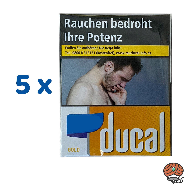 1 Stange Ducal Gold Zigaretten XXXXL 5 x 40 Stück