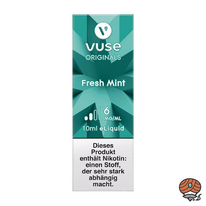 Vuse eLiquid Bottle Fresh Mint 6 mg/ml (ehem. Vype Green Mint)