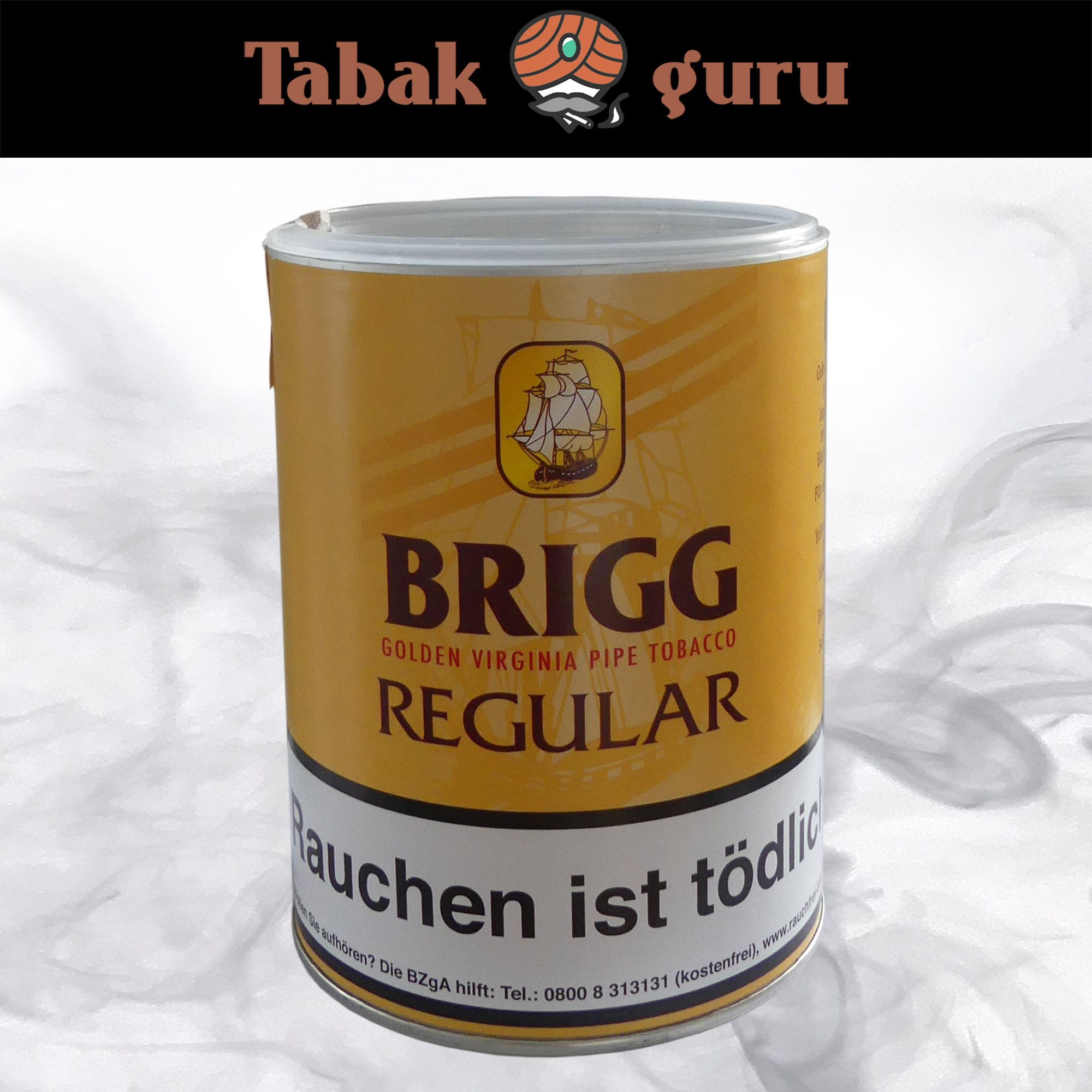 Brigg Regular 180g Dose - Golden Virginia Pfeifentabak