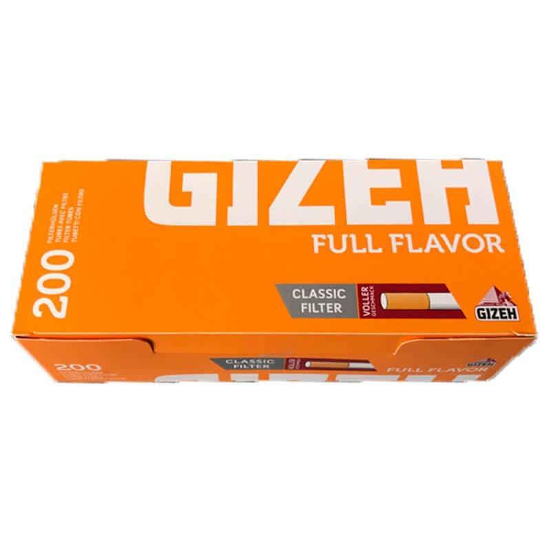 200 Gizeh Full Flavor King Size Filterhülsen
