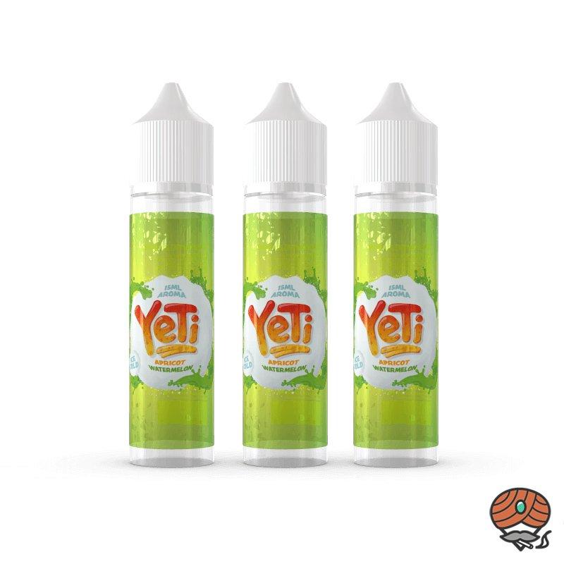 3 x YeTi Longfill Aroma Apricot Watermelon 15 ml