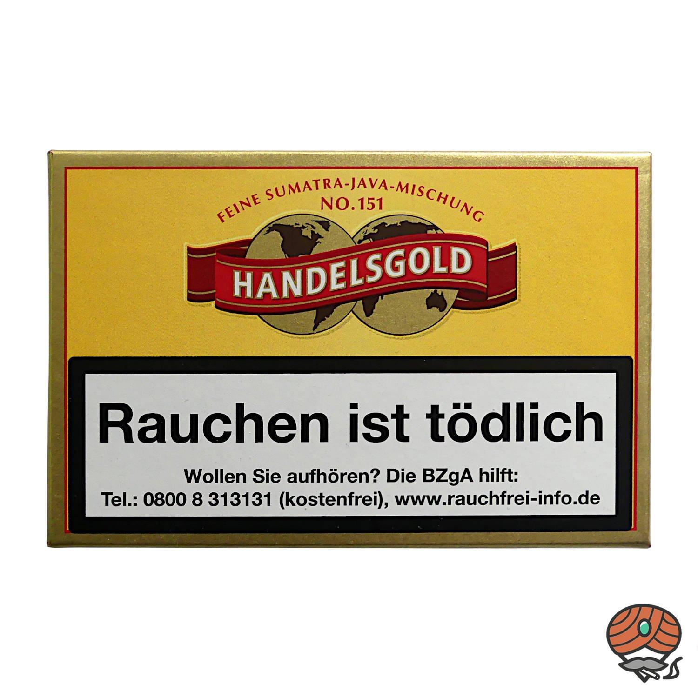Handelsgold Feine Sumatra-Java-Mischung No. 151 Zigarillos, 10 Stück