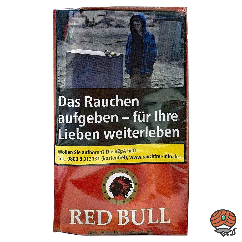 Red Bull Blond Shag Zigarettentabak 40g Pouch