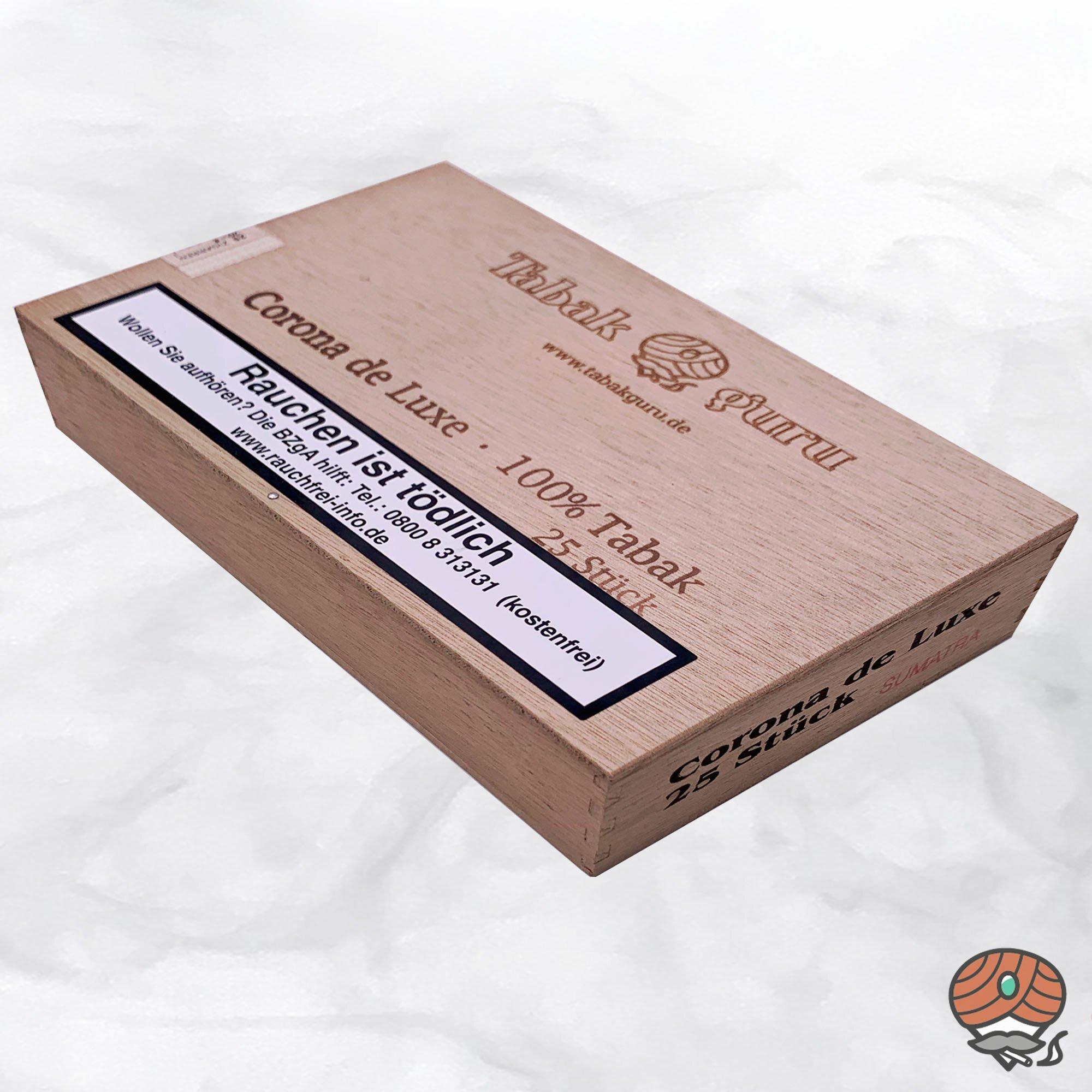 Tabakguru 25 Corona de Luxe Sumatra 100% Tabak Zigarren