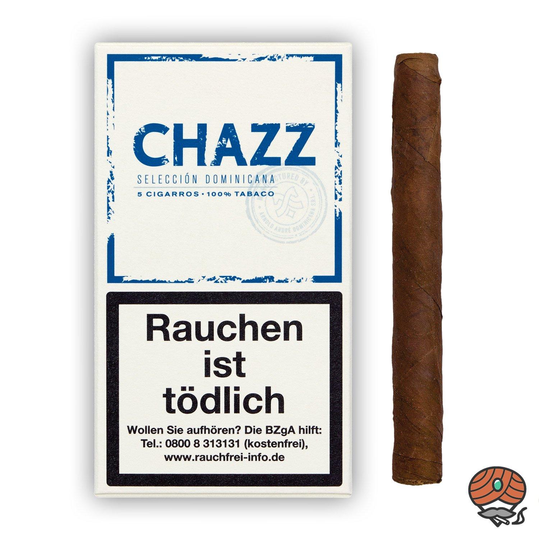 CHAZZ Selección Dominicana Cigarros Nr. 792 - 5 Stück