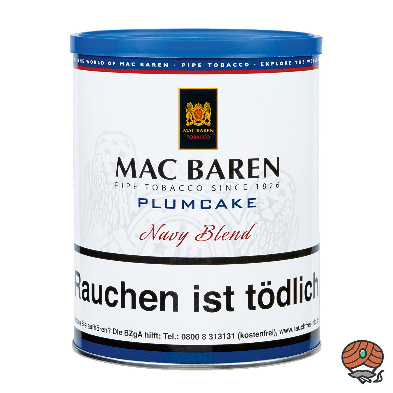 Mac Baren Plumcake Navy Blend Pfeifentabak 250 g Dose
