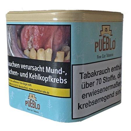 Pueblo Blau Feinschnitt Drehtabak Dose mit 100g Tabak