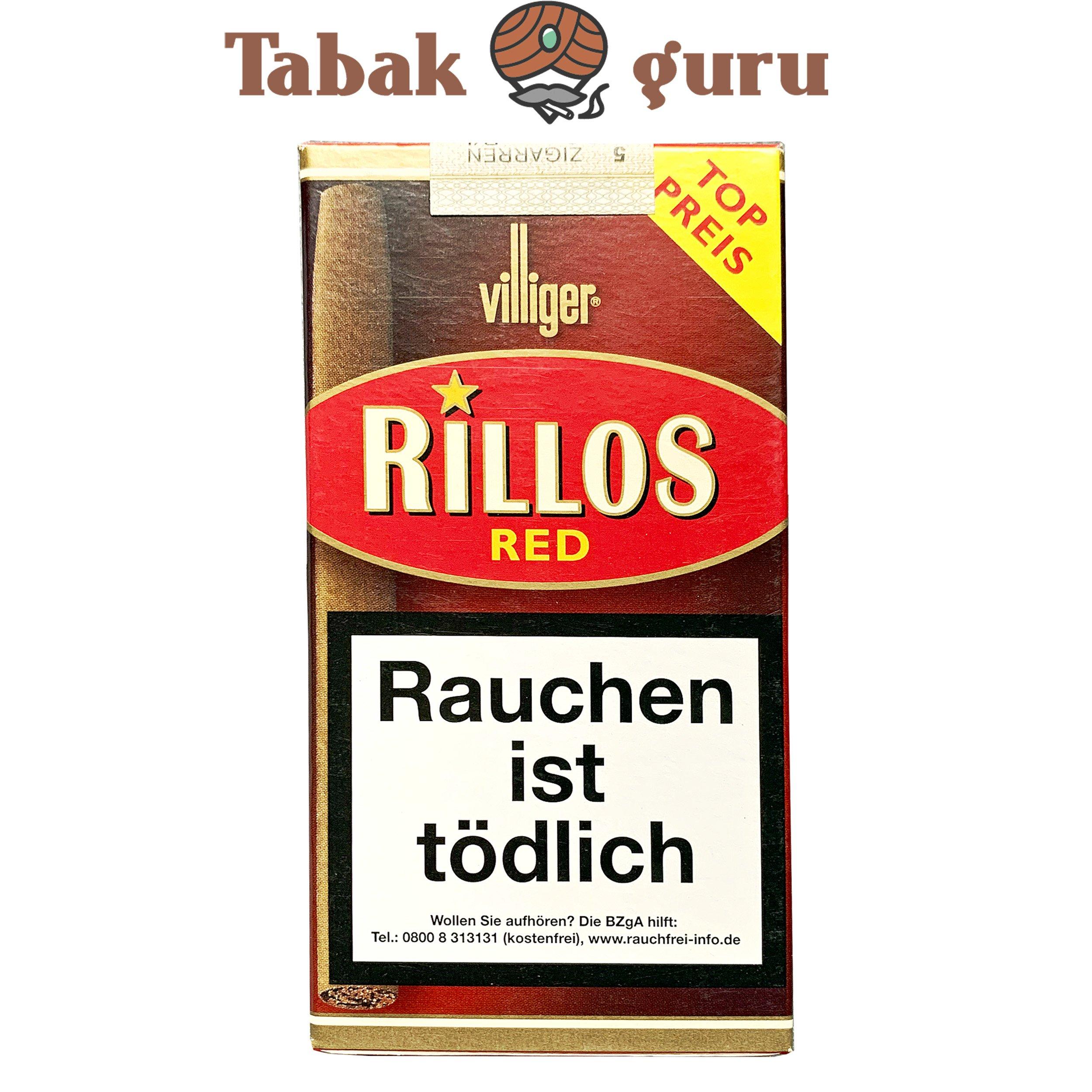 Villiger Rillos Red Zigarillos