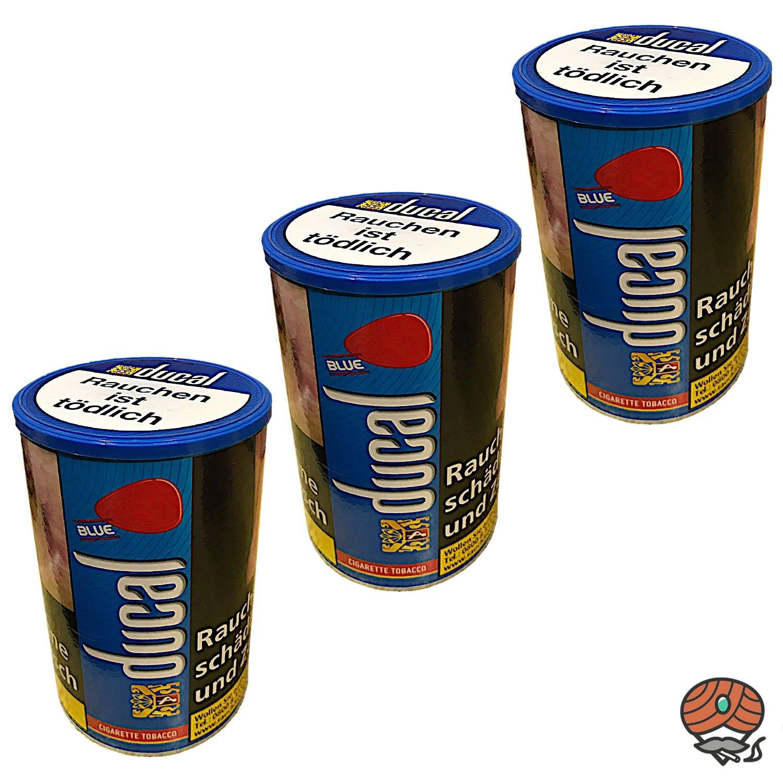 3 x Ducal Blue / Blau Zigarettentabak Dose à 200 g
