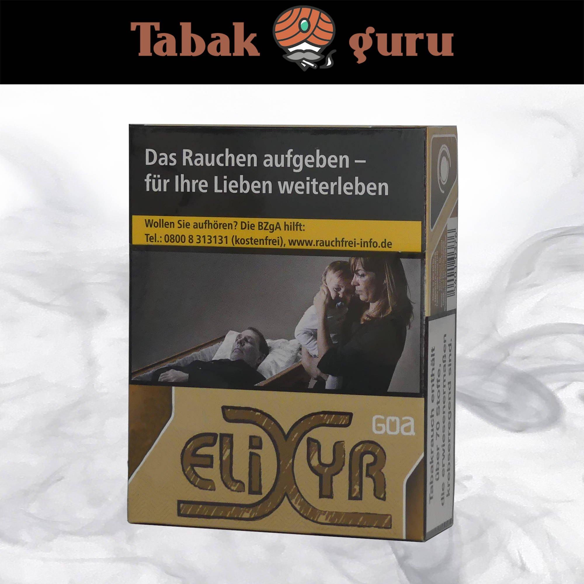 Elixyr Goa Big Pack à 23 Zigaretten