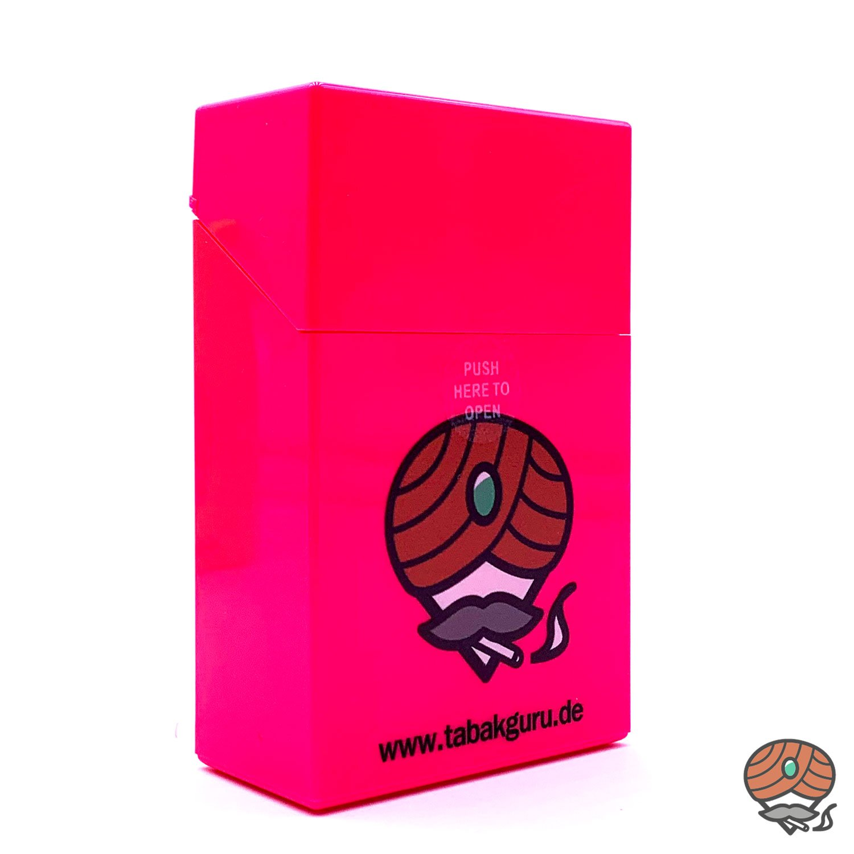 Atomic Sprungdeckel Zigarettenbox Pink Tabakguru Motiv