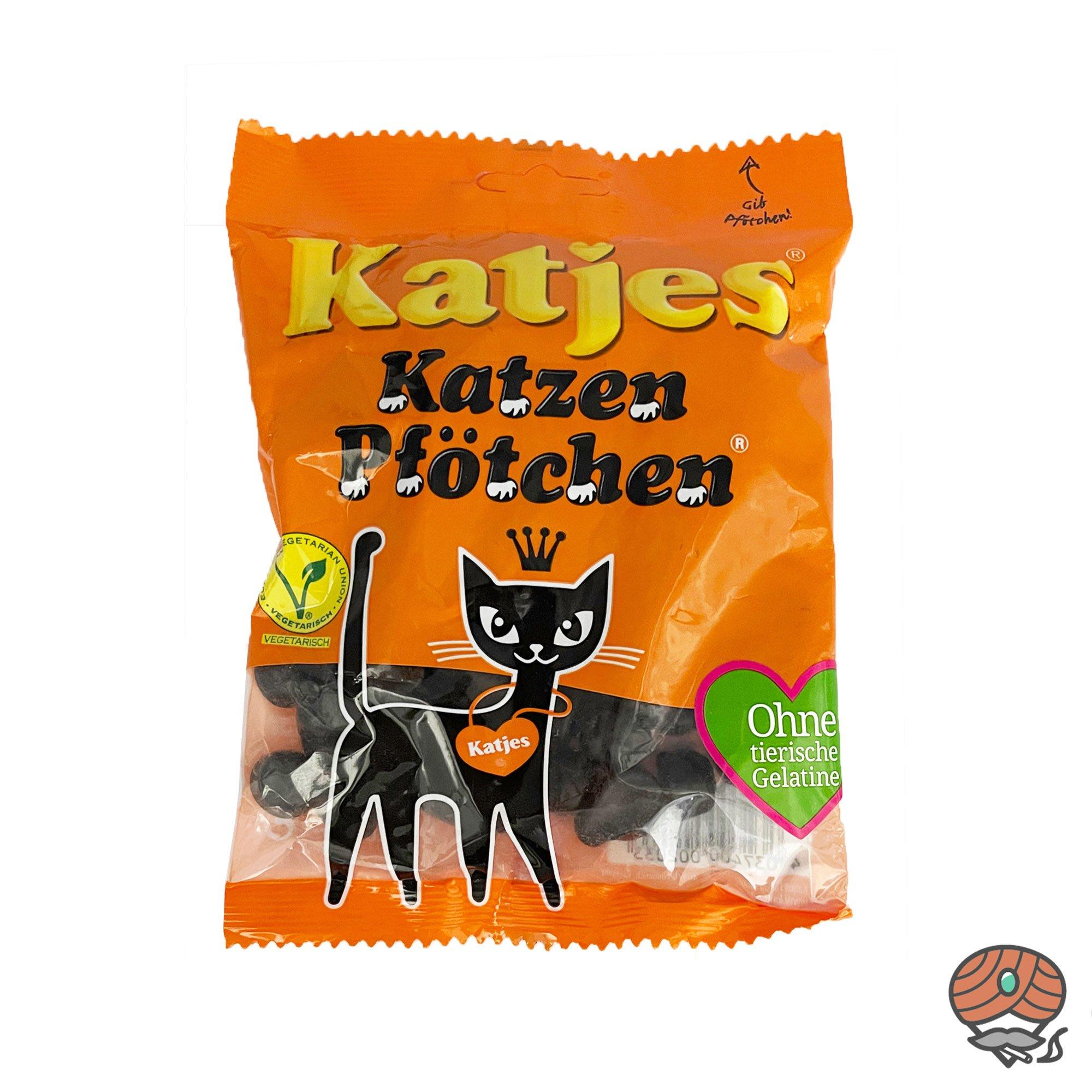 Katjes Katzen-Pfötchen Weichlakritz 200g Beutel