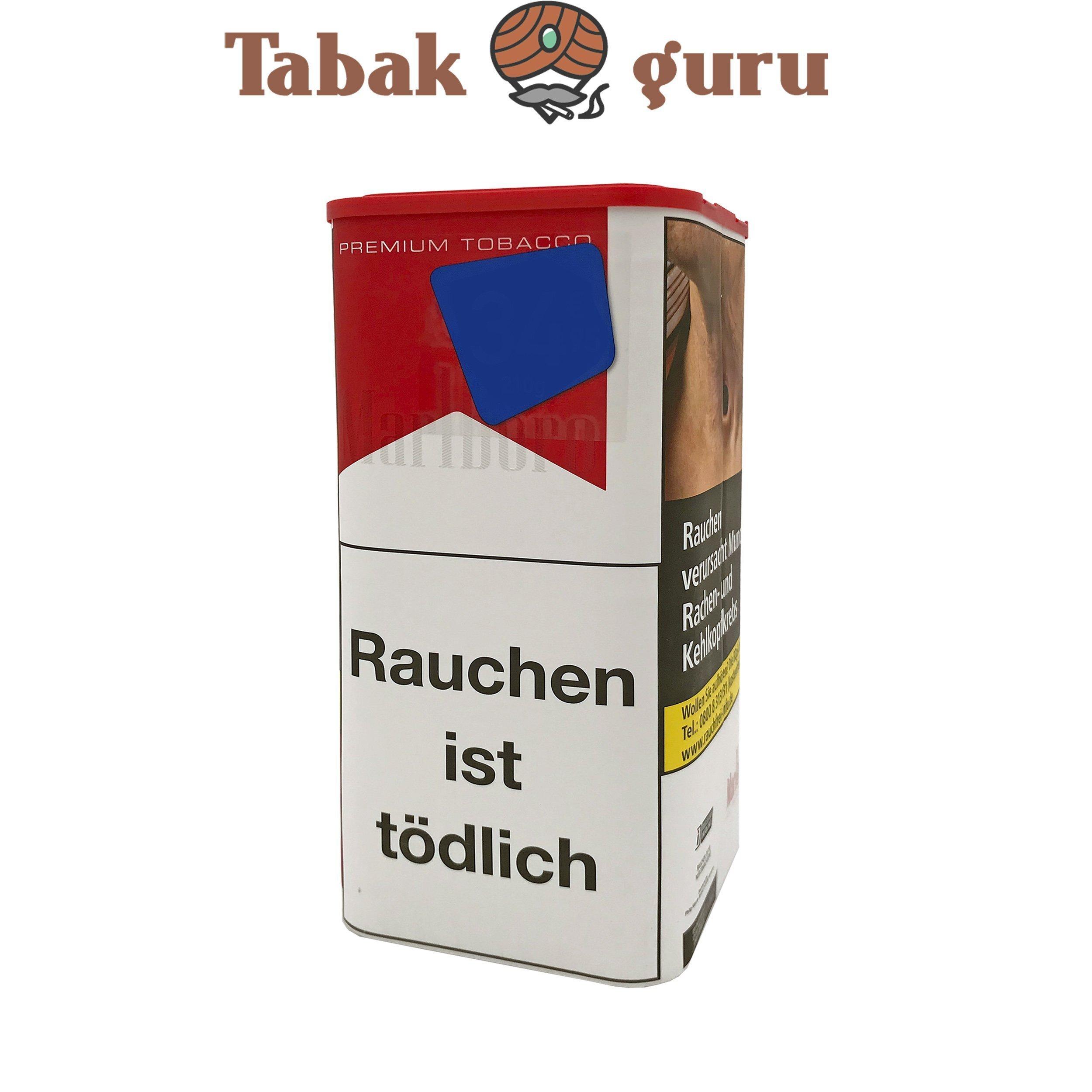 Marlboro Red / Rot Premium Feinschnitt Tabak  XXL 205g Dose