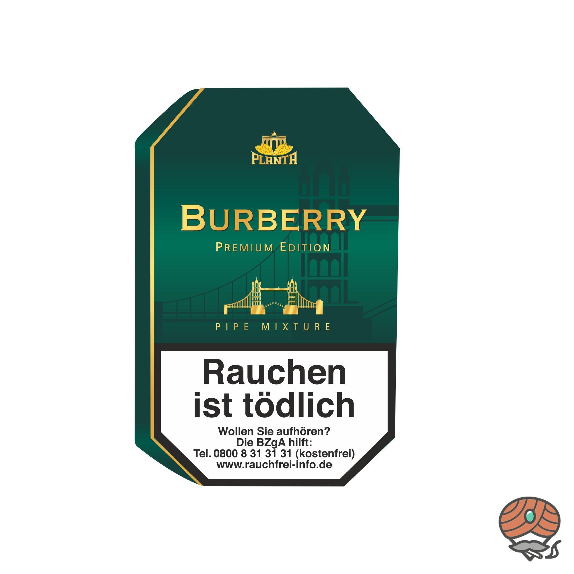 Planta Burberry Premium Edition Pfeifentabak 100g