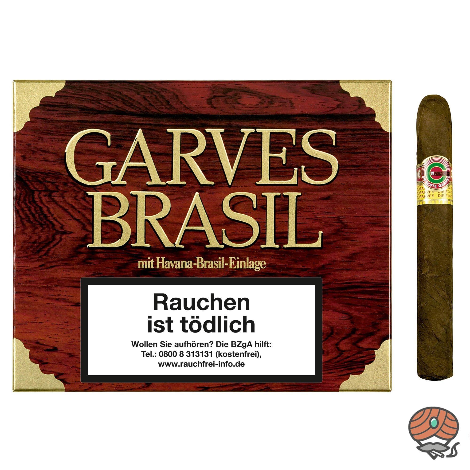 Garves Brasil Corona Mahagoni No. 904 Zigarren 25 Stück