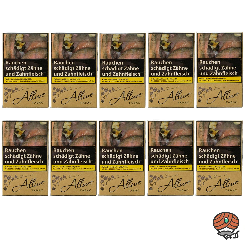 1 Stange Allure Tabac Zigaretten Super Slim XXXL Schachtel 10x40 Stück