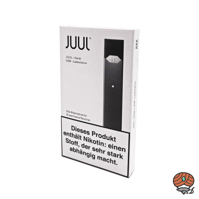 JUUL E-Zigarette mit USB-Ladestation Grau