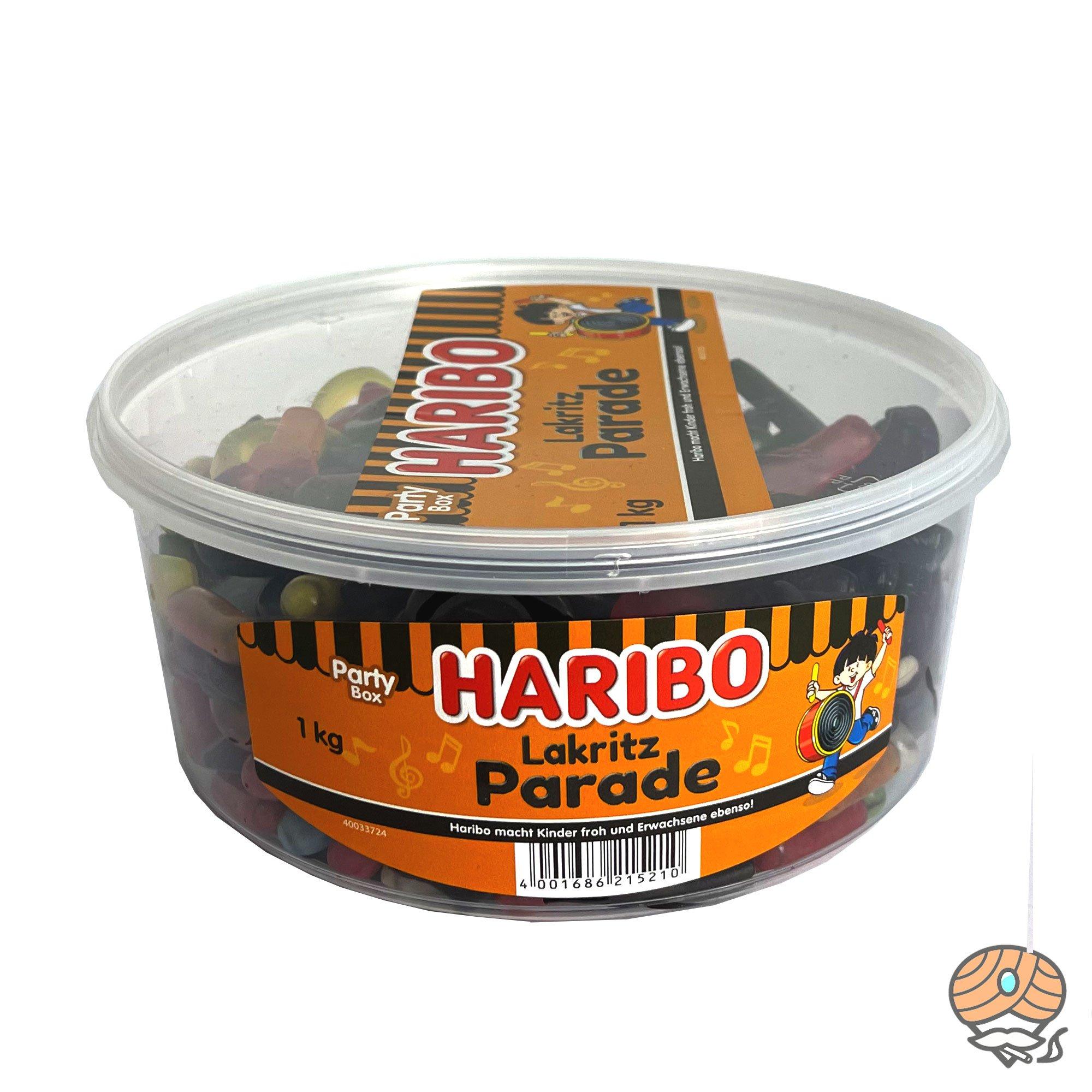 Haribo Lakritz Parade Party Box 1kg