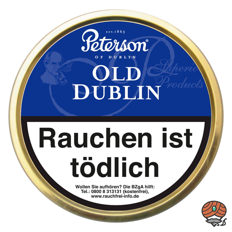 Peterson Old Dublin Pfeifentabak 50g Dose