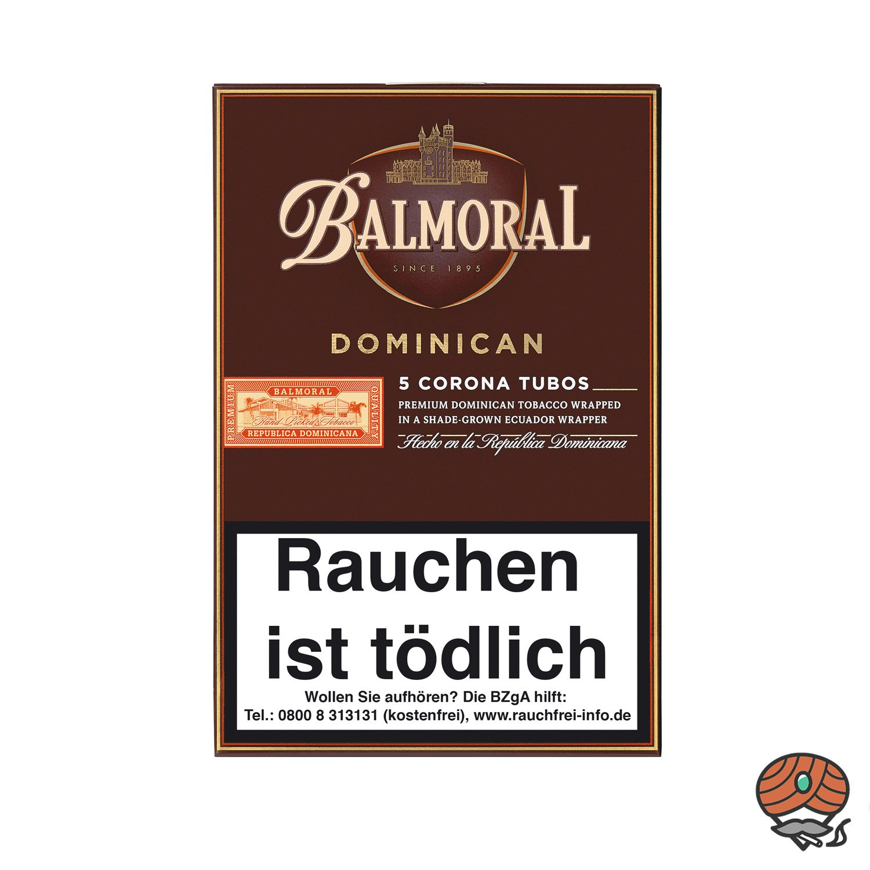 Balmoral Dominican Selection Corona Tubos Zigarren, 5 Stück