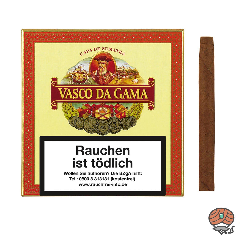 Vasco da Gama Cigarillos Sumatra Zigarillos, 10 Stück