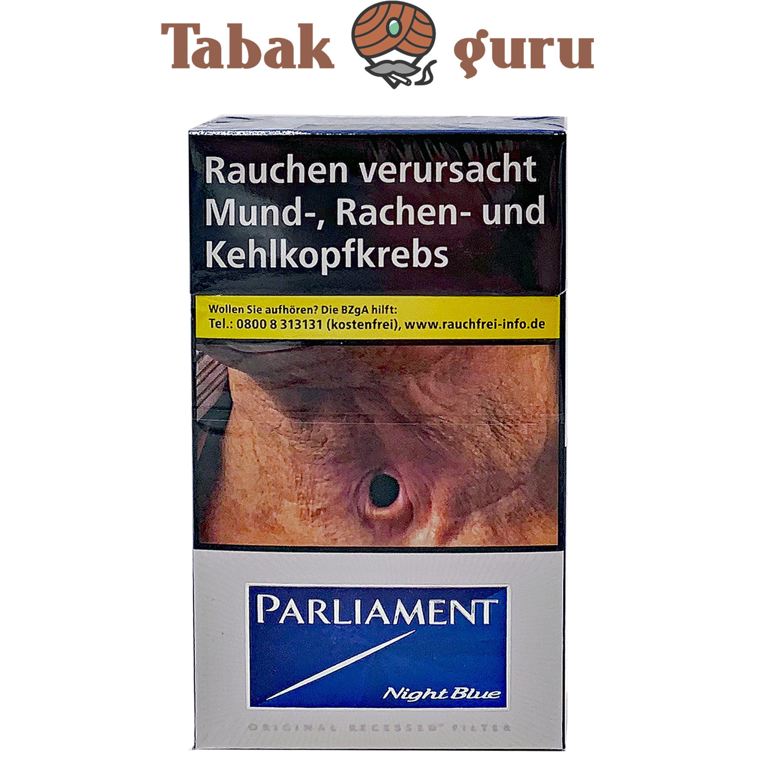 Parliament Night Blue Long Zigaretten (20 Stück)