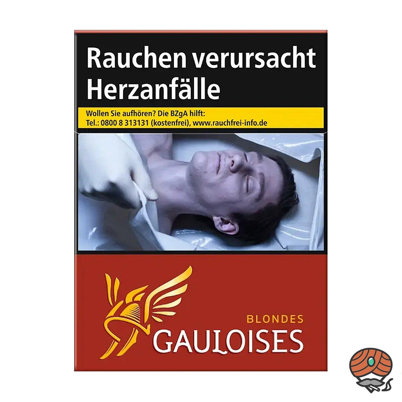 Gauloises Blondes Rouge / Rot Zigaretten XXL Schachtel 23 Stück