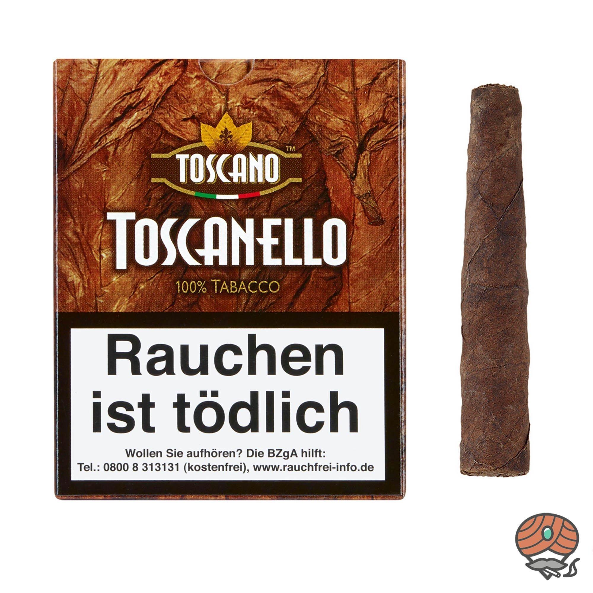 Toscano Toscanello 100% Tabacco Zigarren 5 Stück