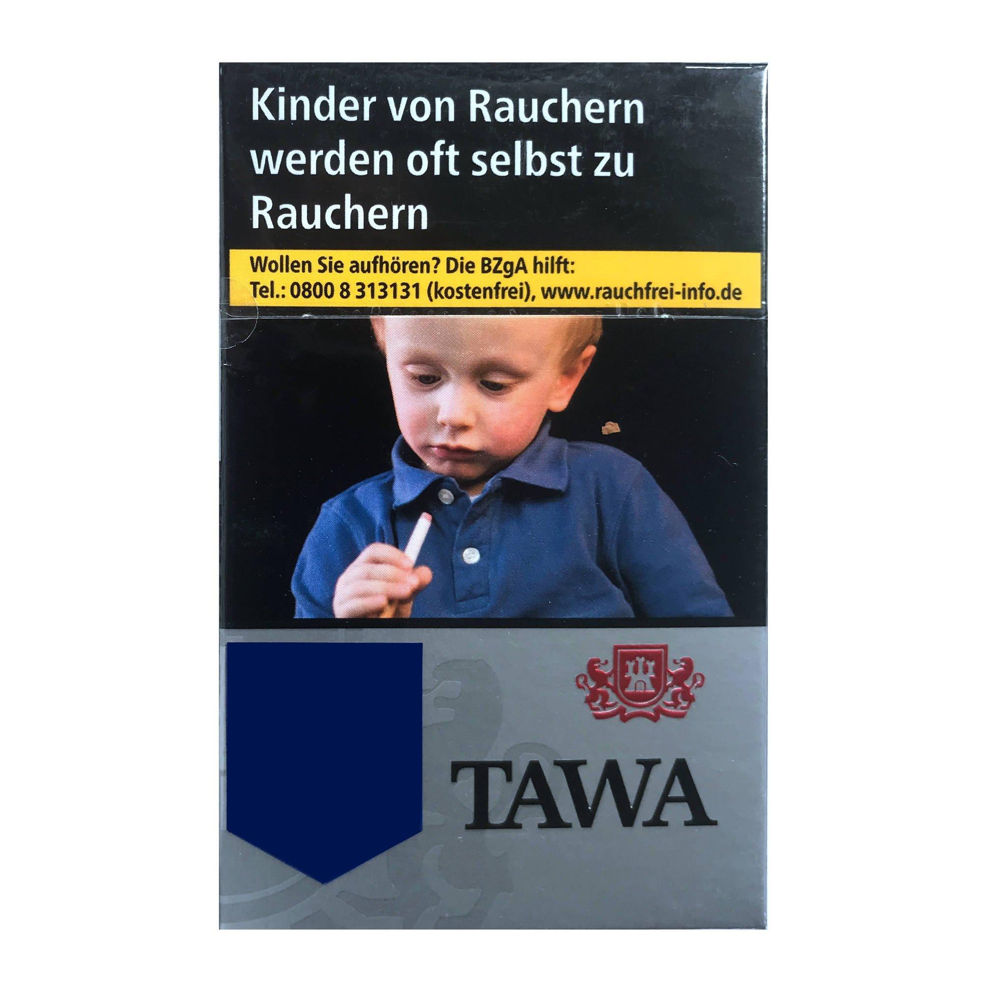Tawa Silver / Silber Zigaretten - 20 Stück