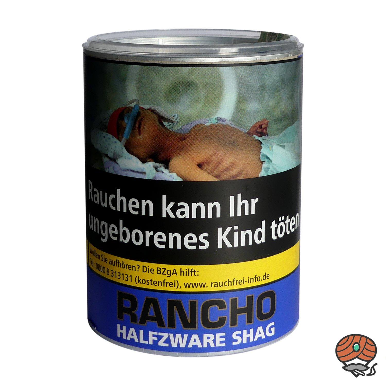 Rancho Halfzware Shag Zigarettentabak 190 g Dose