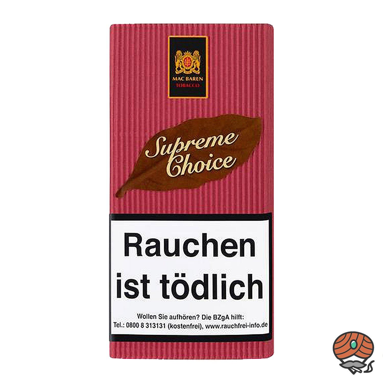 Mac Baren Supreme Choice Pfeifentabak 40g Pouch