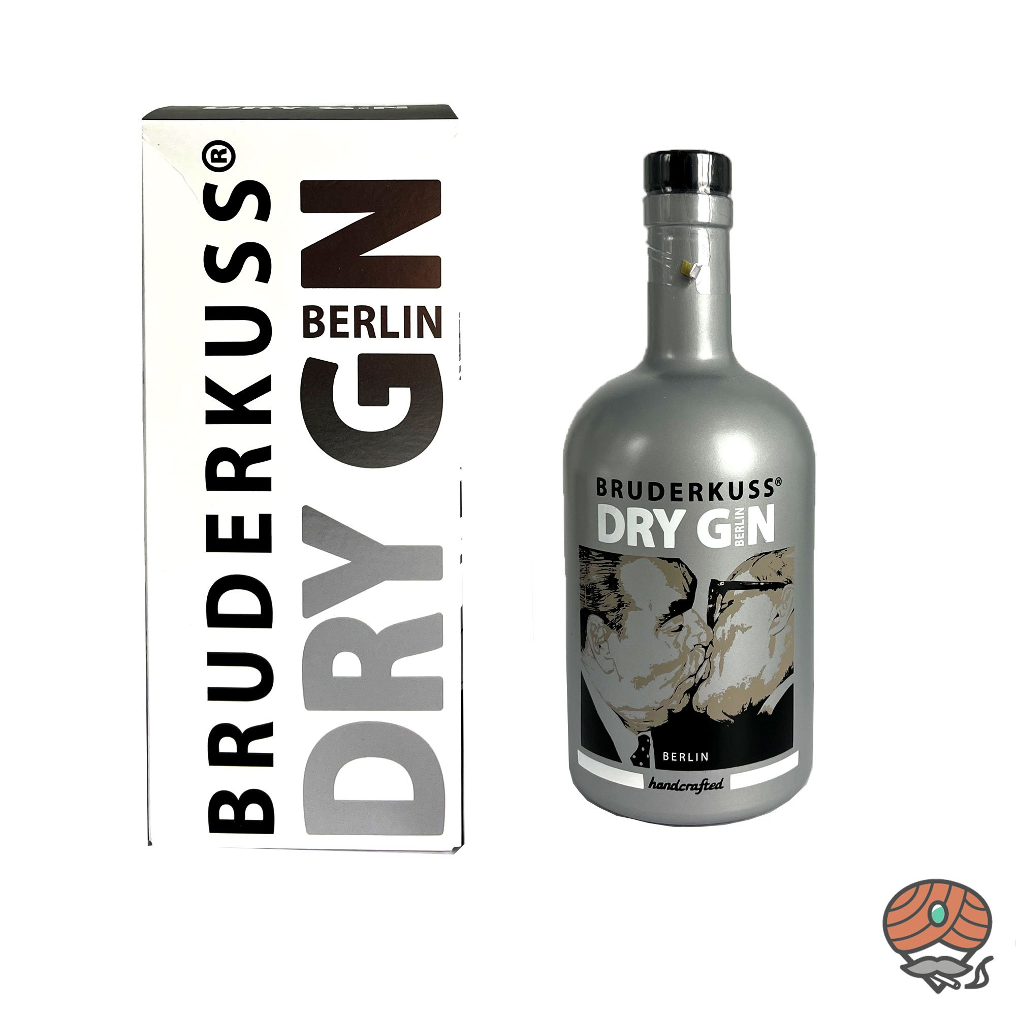 BRUDERKUSS Berliner Luxery Dry Gin 0,5l, alc. 46 Vol.-%