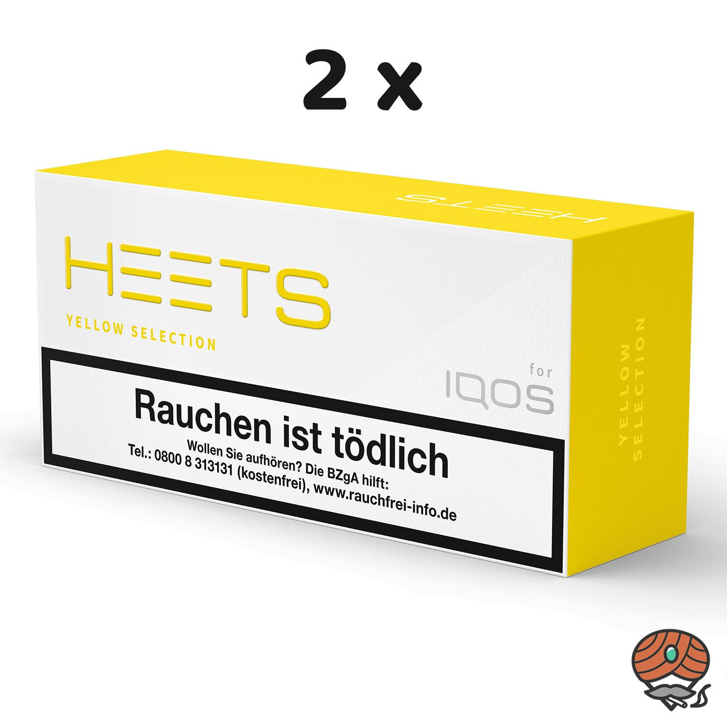 20x HEETS Yellow Selection Tabak Sticks von Marlboro für IQOS (2 Stangen)