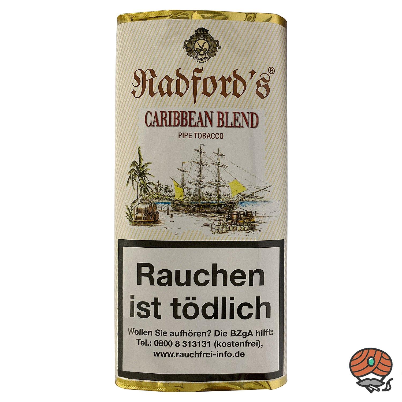 Radford´s Caribbean Blend Pfeifentabak 50 g Pouch (ehem. Old Rum Royal)
