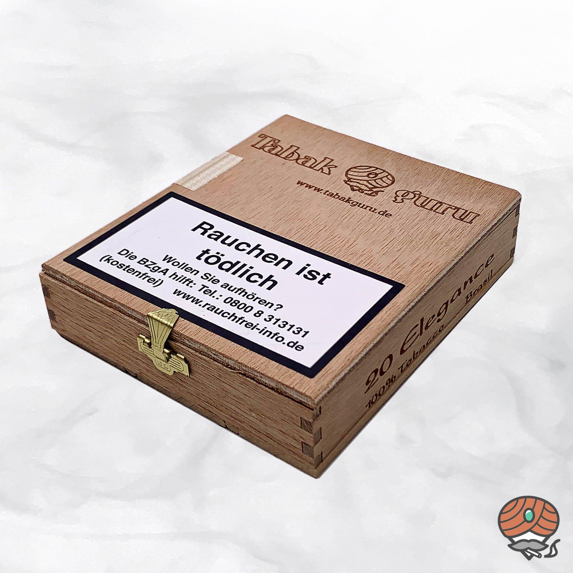 20 Tabakguru Elegance Brasil Zigarren 100 % Tabak