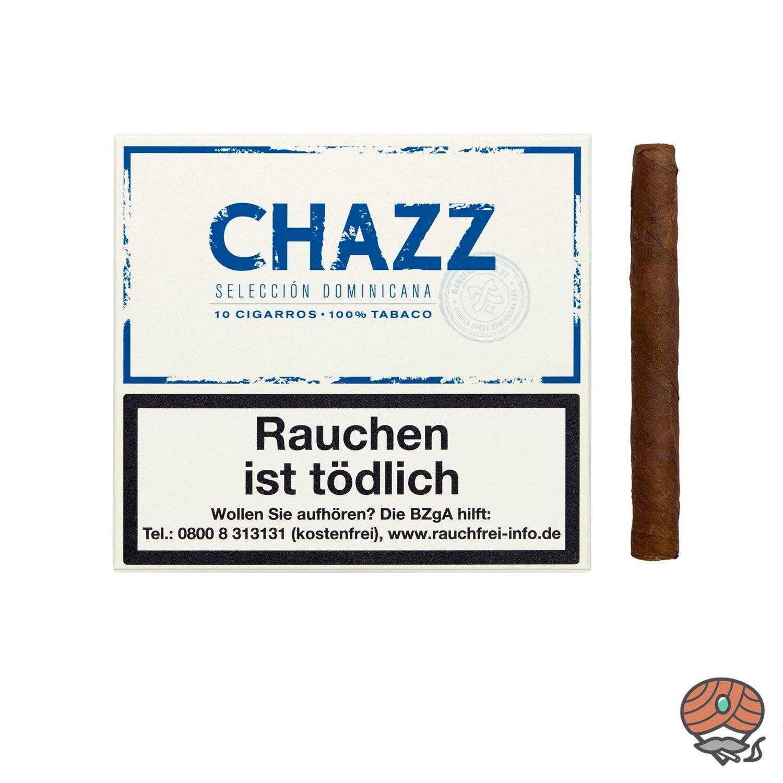CHAZZ Cigarros Nr. 792 Zigarren, Inhalt 10 Stück