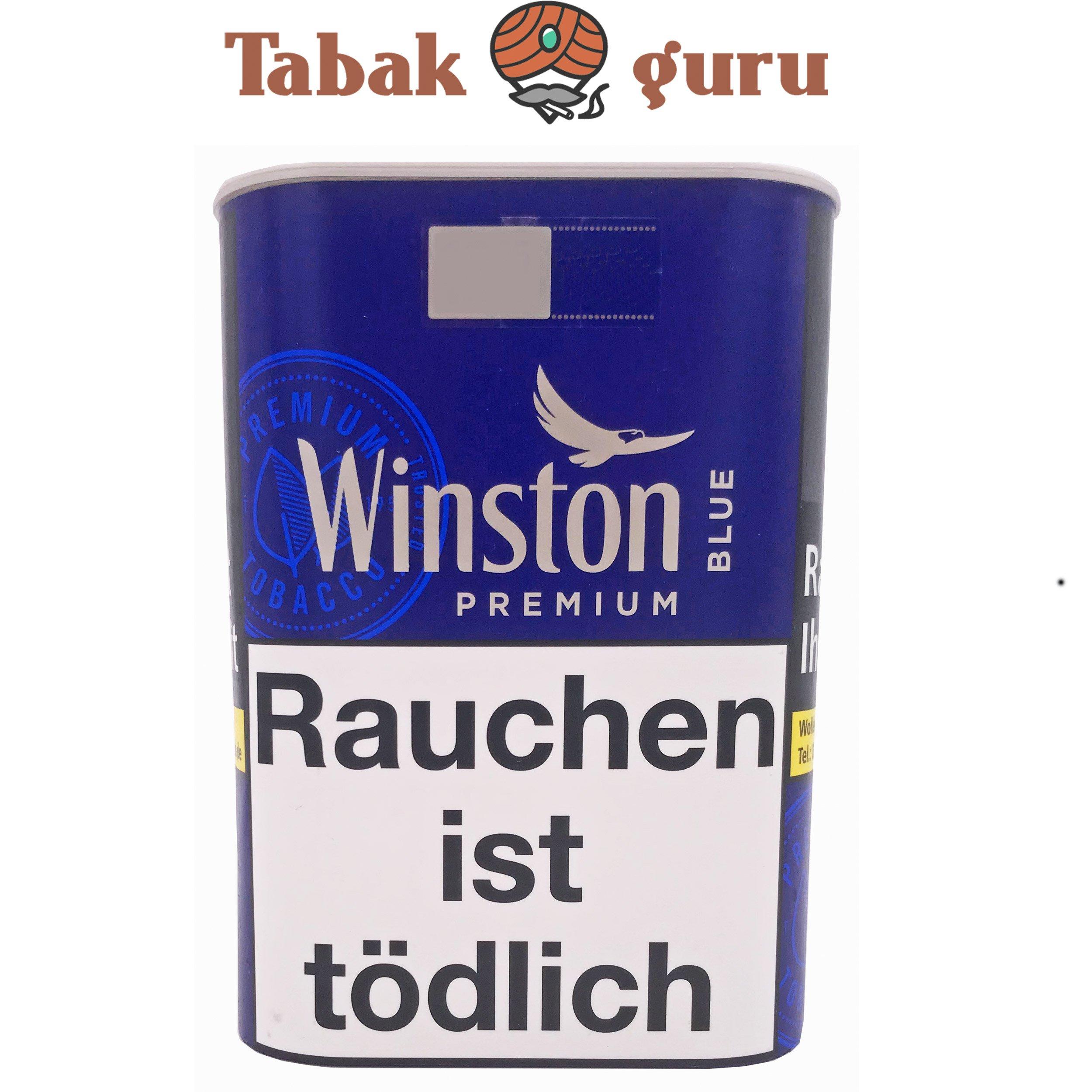 Winston Blue / Blau Premium Zigarettentabak 100g Dose