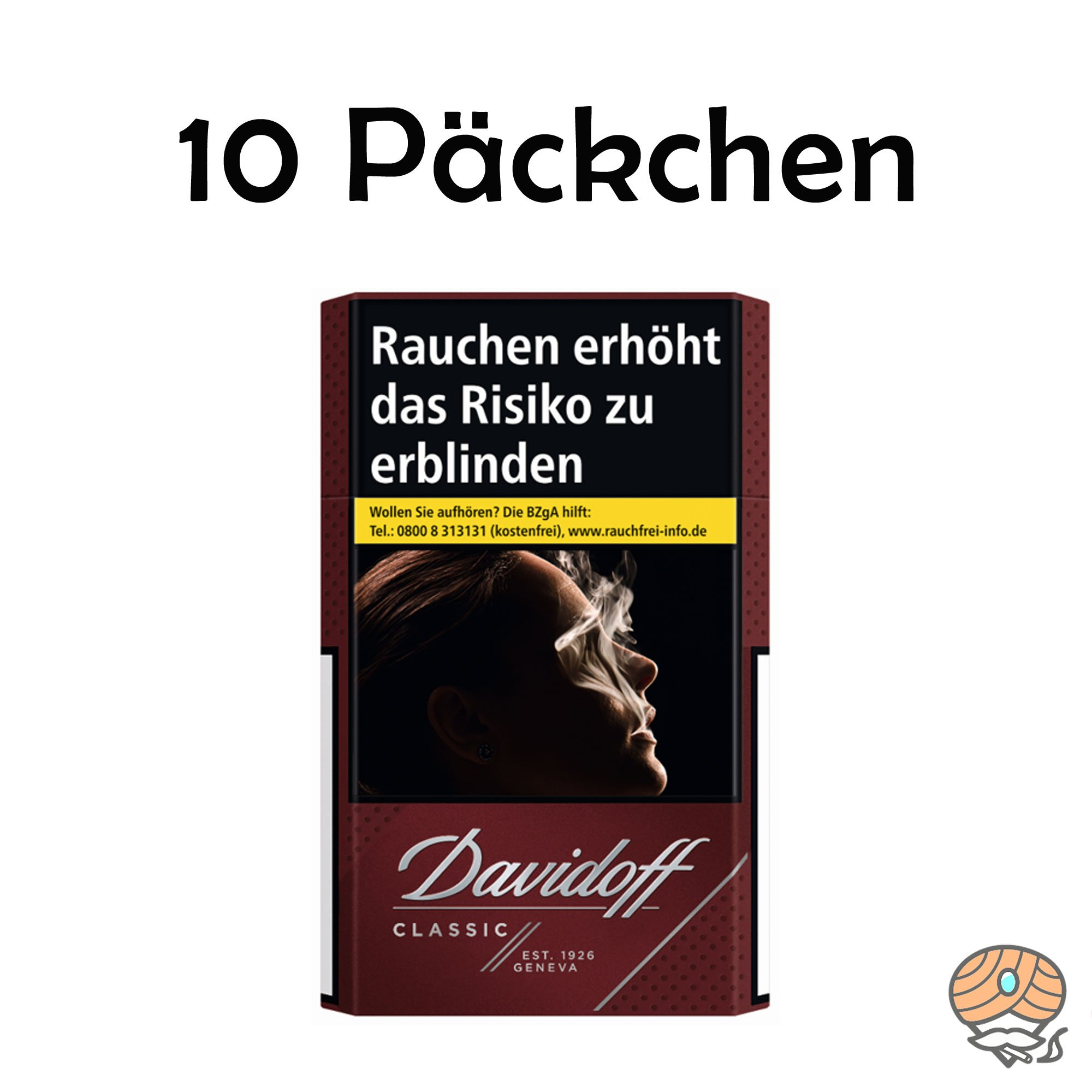 Davidoff Classic Zigaretten 10 x 20 Stück