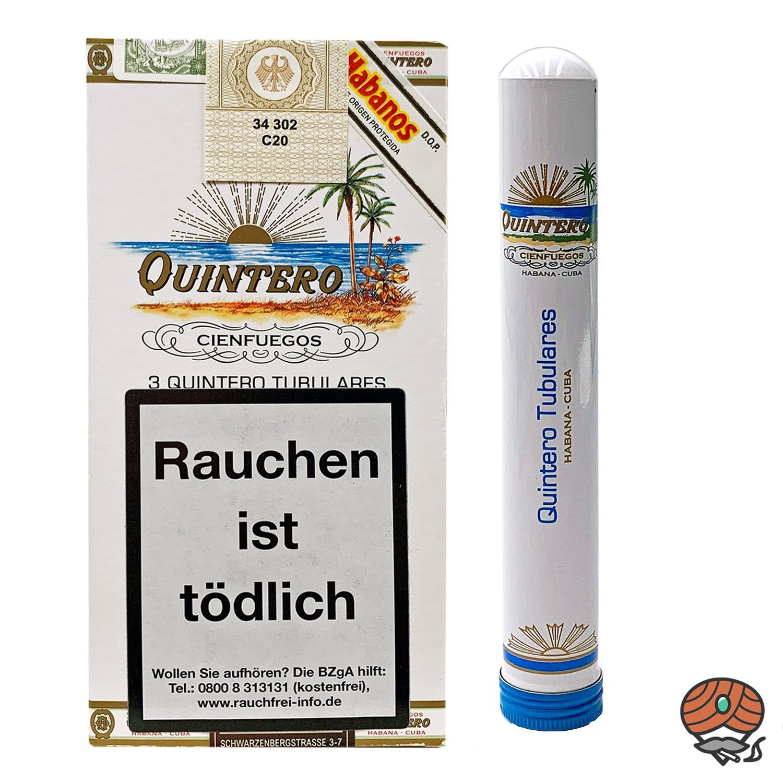 3 er Pack Quintero Tubulares Zigarren