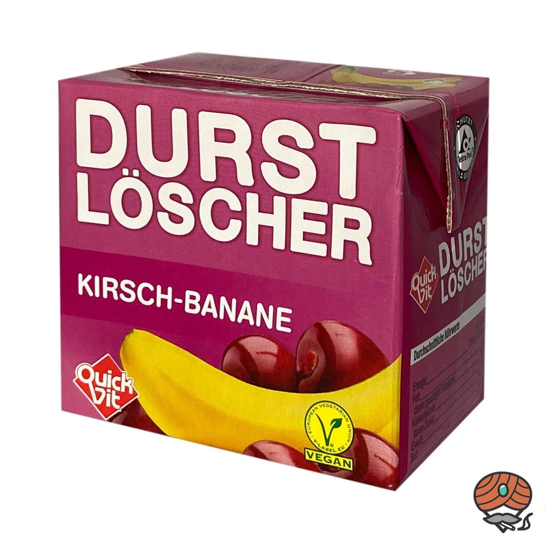 QuickVit Durstlöscher Kirsch-Banane, Erfrischungsgetränk, 500 ml
