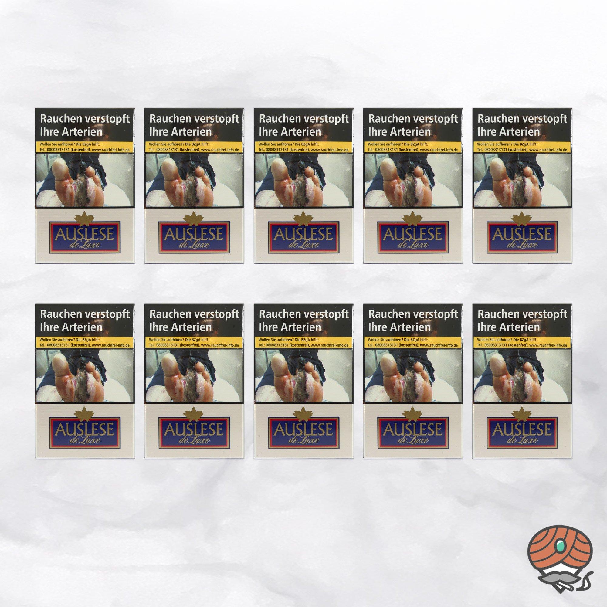 10 x AUSLESE de Luxe Filterzigaretten - 1 Stange mit 10 x 20 Zigaretten