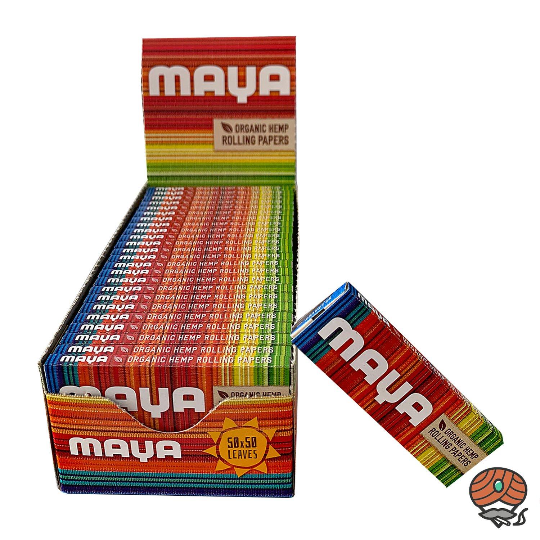 Maya Organic Hemp Rolling Papers, Blättchen, Zigarettenpapier