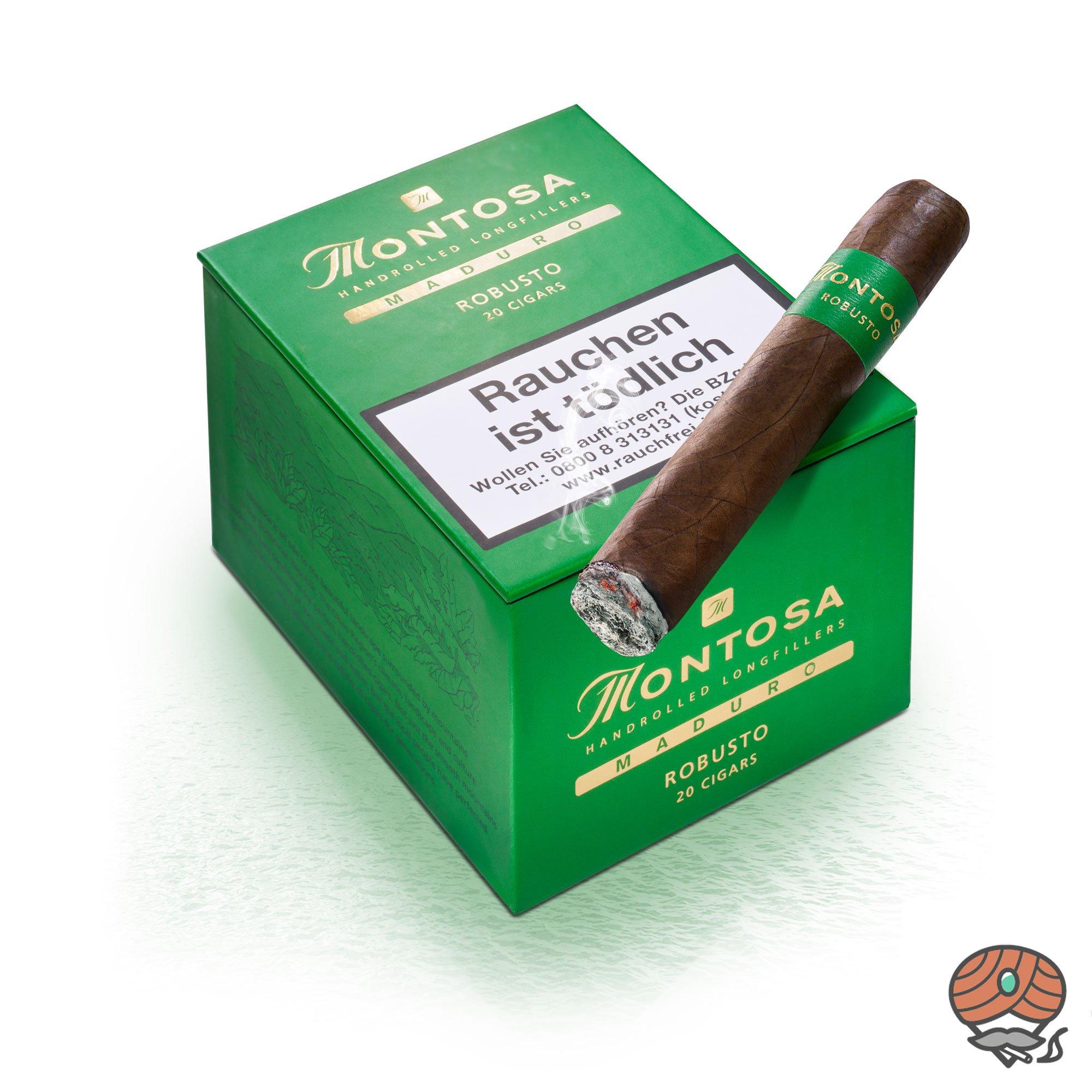Montosa Maduro Robusto Zigarren 20 Stück, Dominikanische Republik