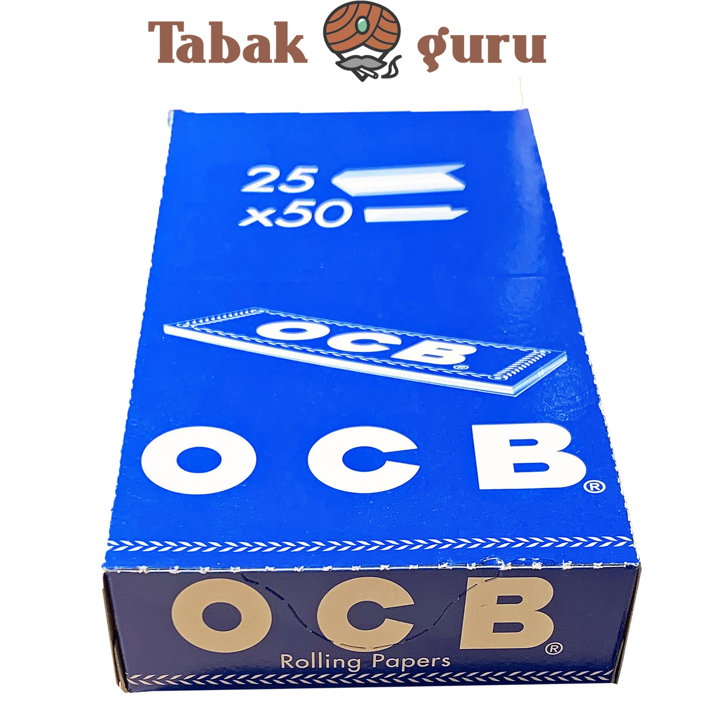 OCB Blau - 25 Hefte á 50 Blatt