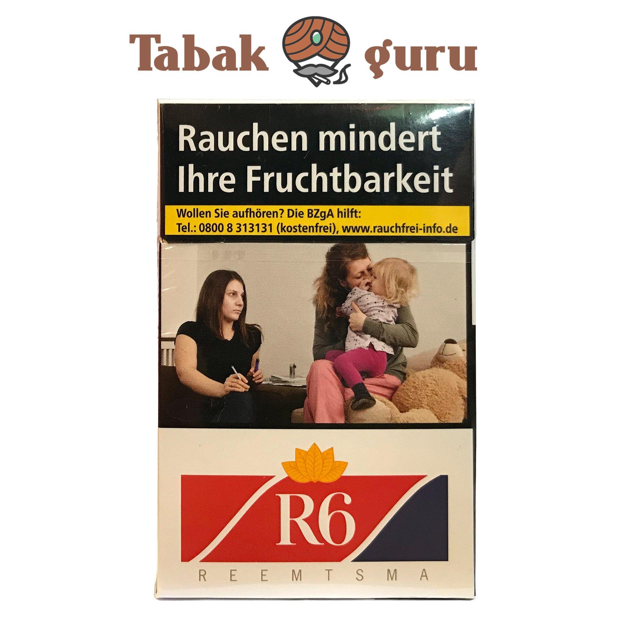 R6 Zigaretten 20 Stück (Reemtsma No. 6)