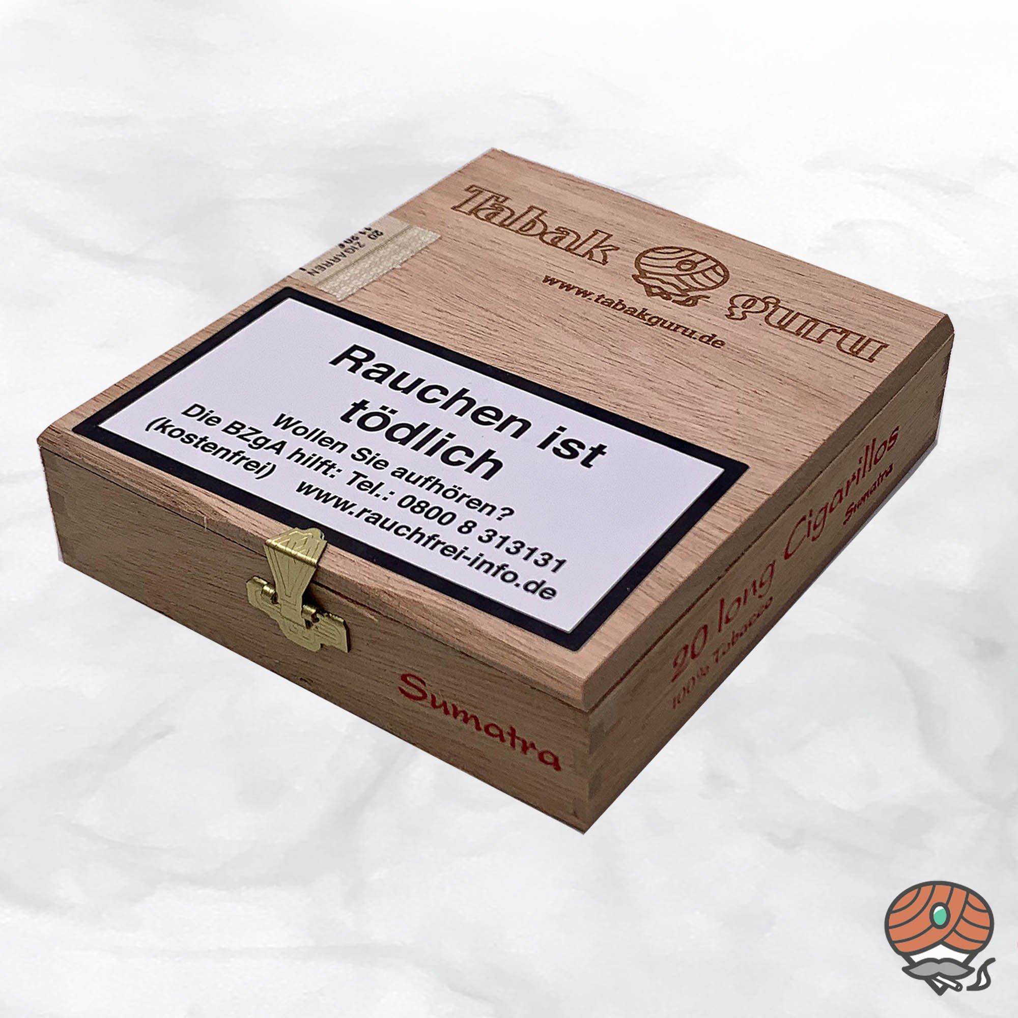 20 Tabakguru Long Zigarillos Sumatra